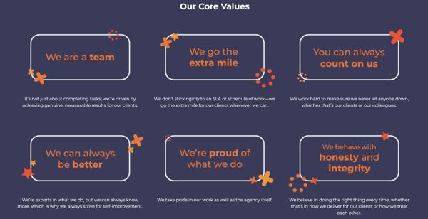 Klood Core Values