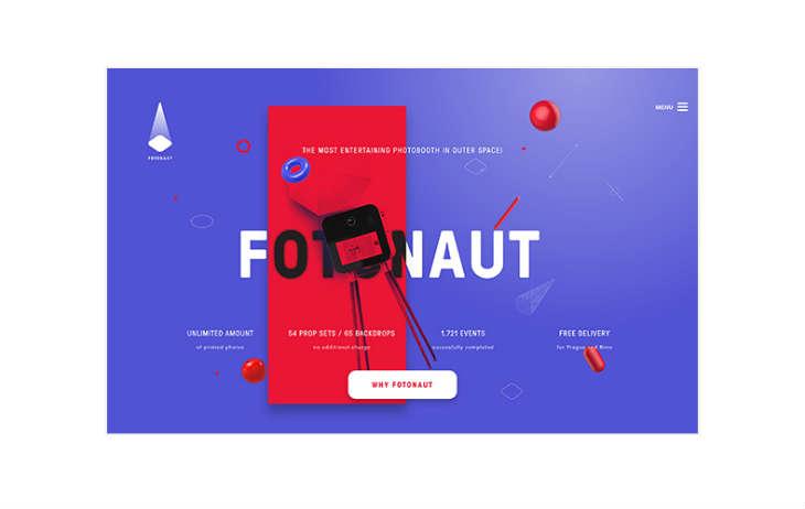 A screenshot of Fotonaut.cz
