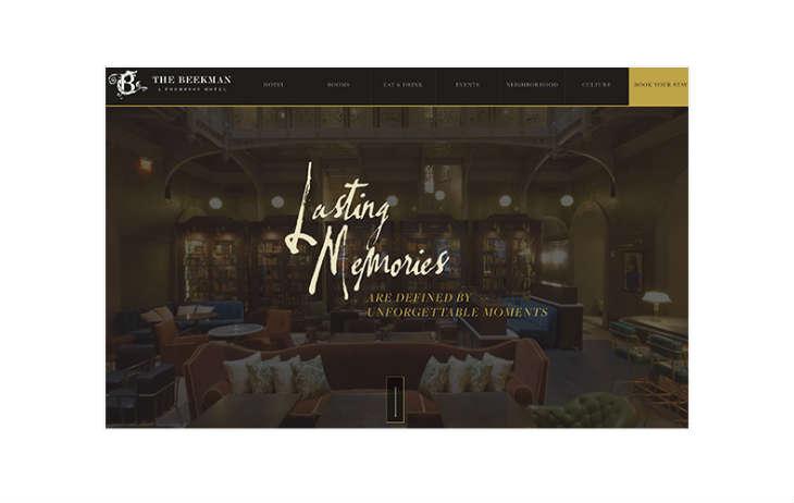 A screenshot of TheBeekman.com