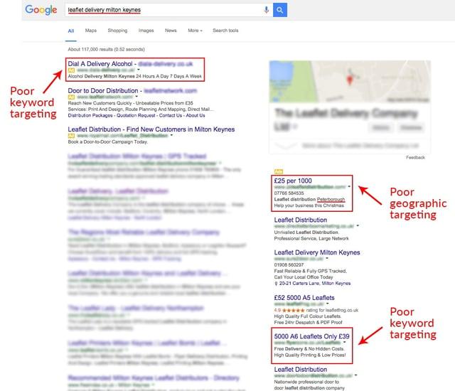 Google Search Results Screenshot