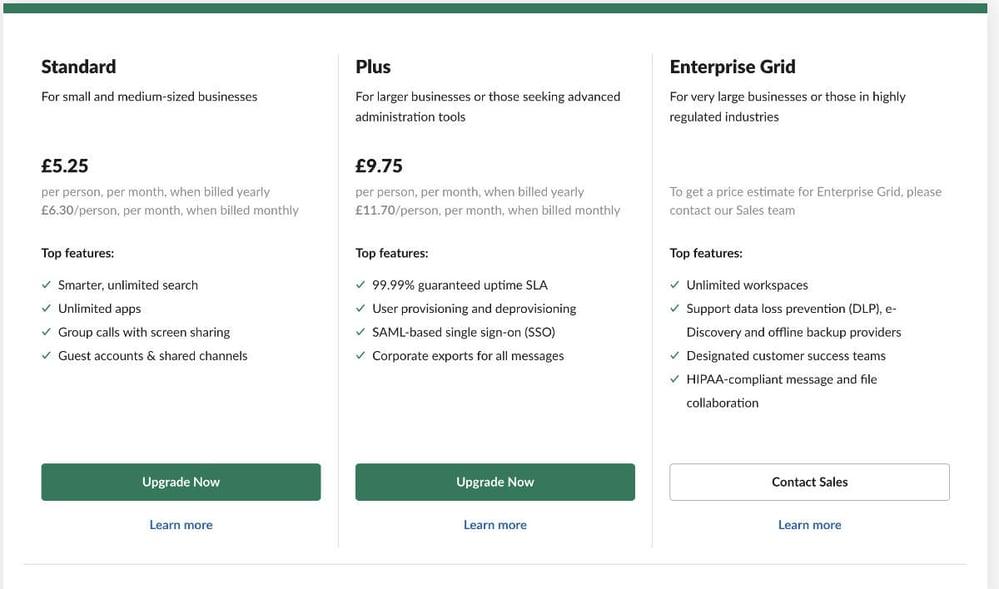 Slack-per-user-pricing
