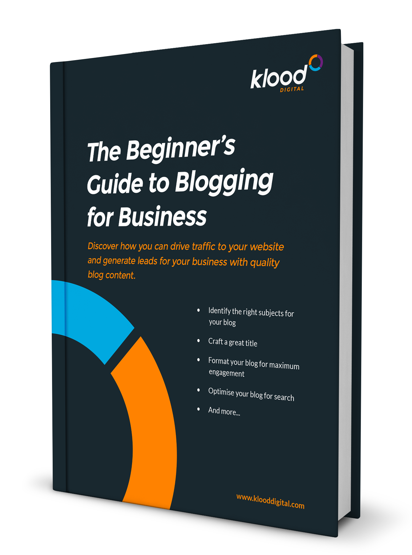 Klood Book - Guide to Blogging for Business
