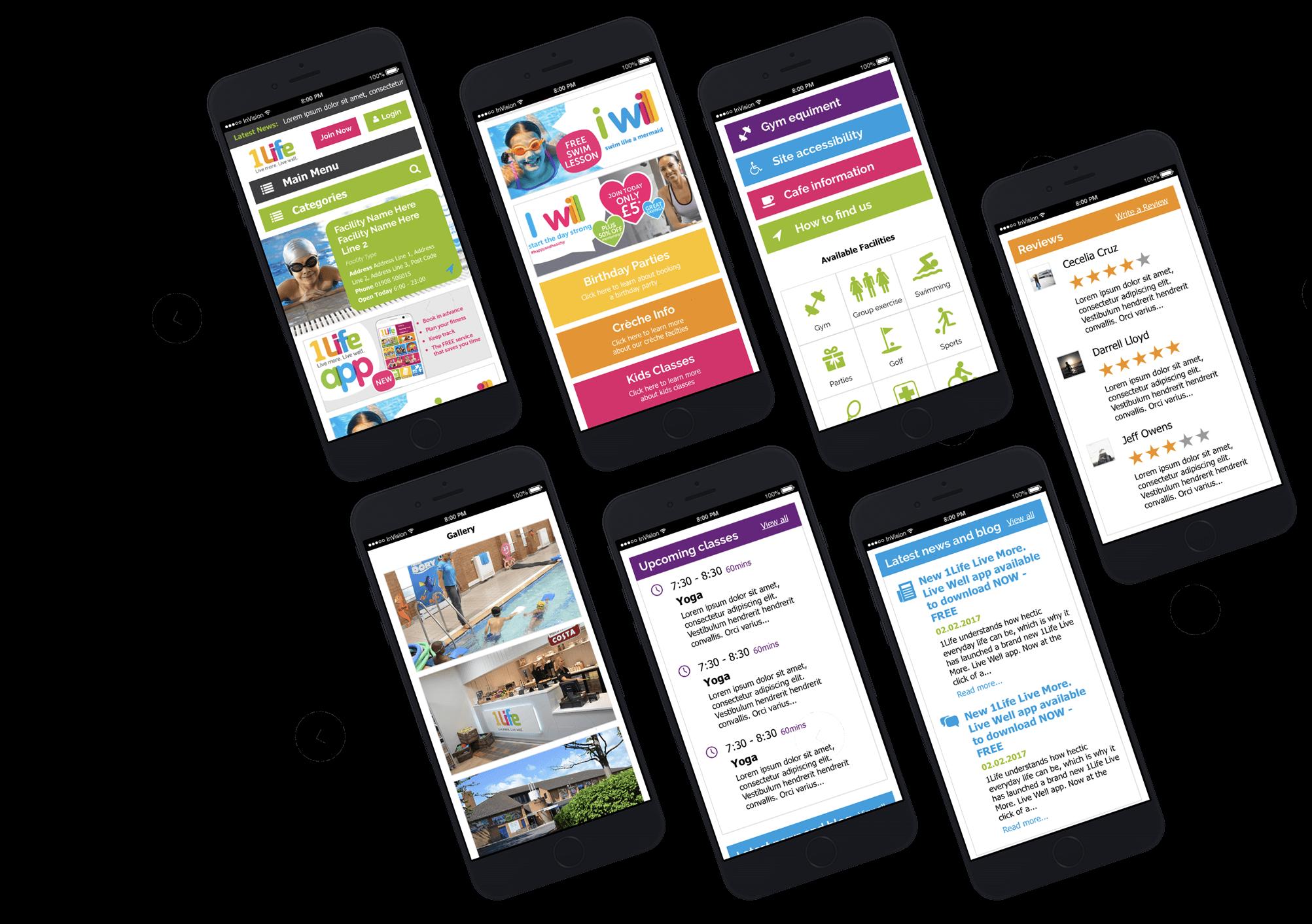 Mobile-responsive website design