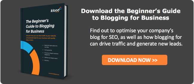 Beginner's Guide to Blogging