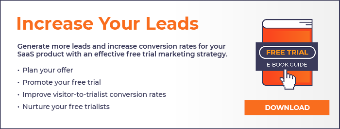 SaaS trail lead ebook