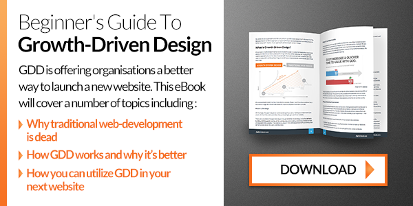 Download the Beginner's Guide to Growth-Driven Design
