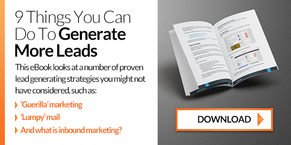 Download our Lead Generation eBook