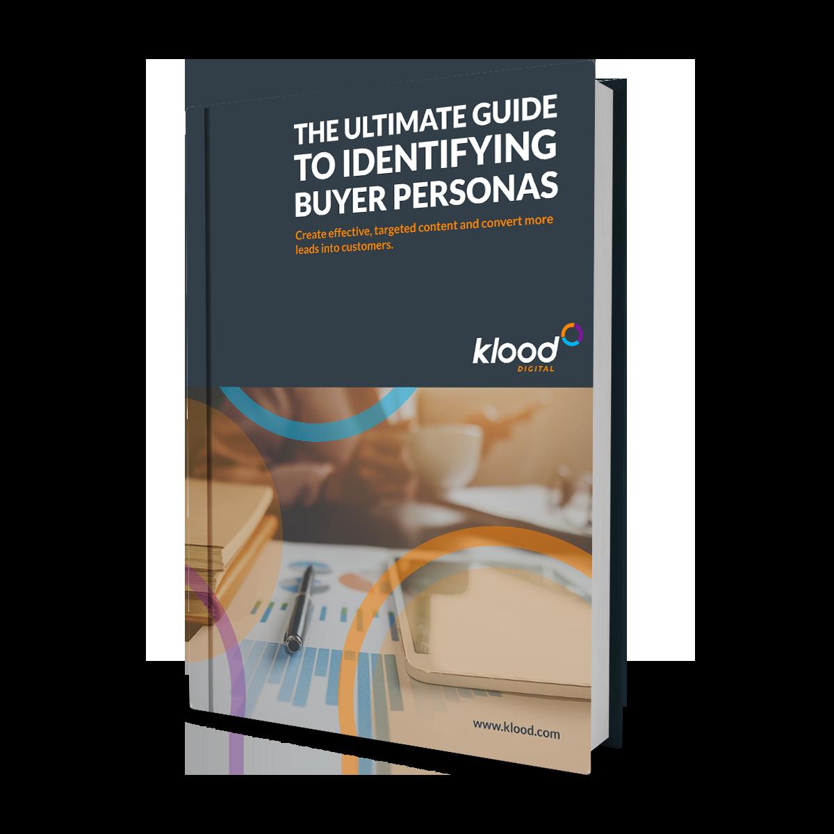 Guide to identifying buyer personas - free marketing resource