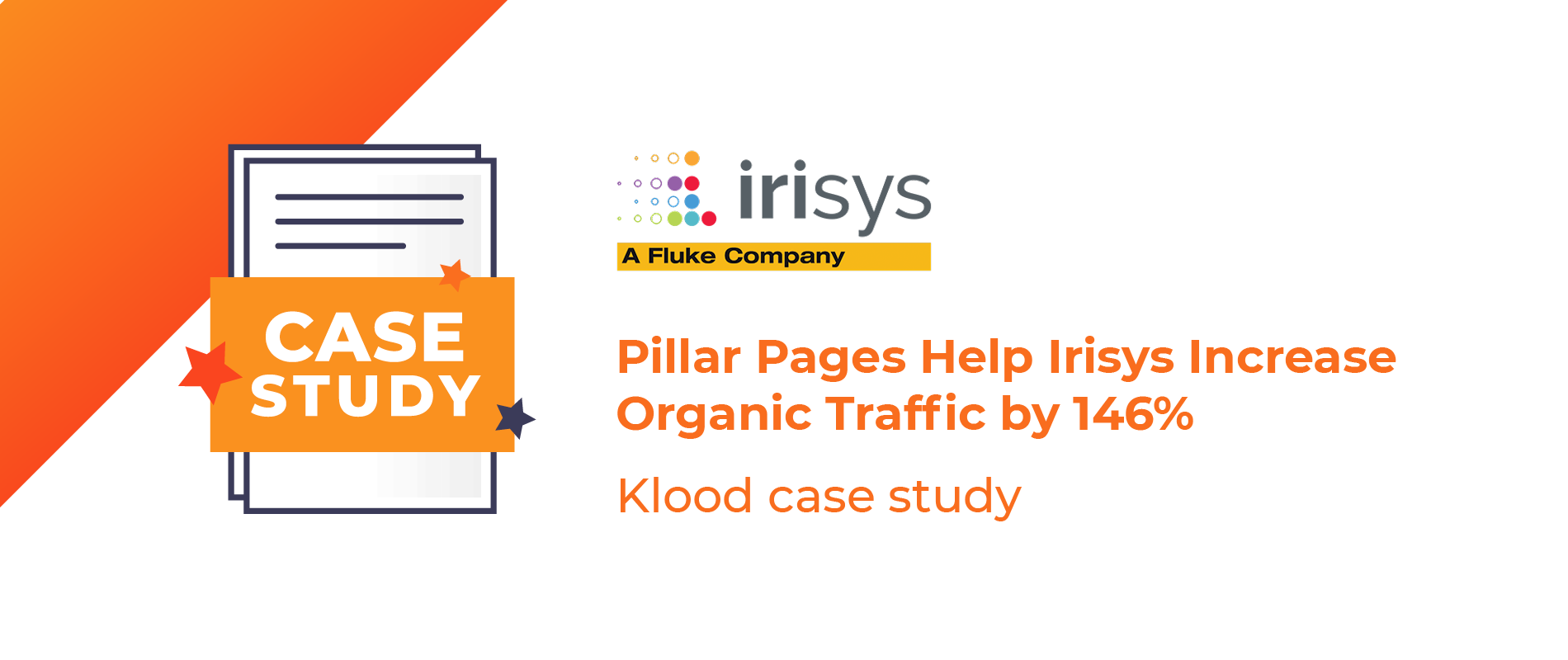 Irisys Grow Organic Traffic BY 146%
