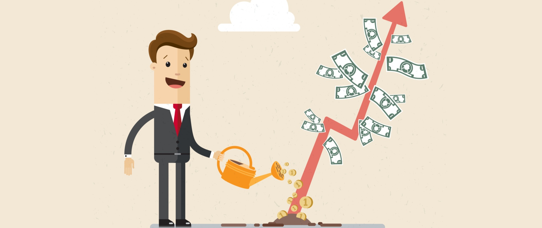 growing businesses money